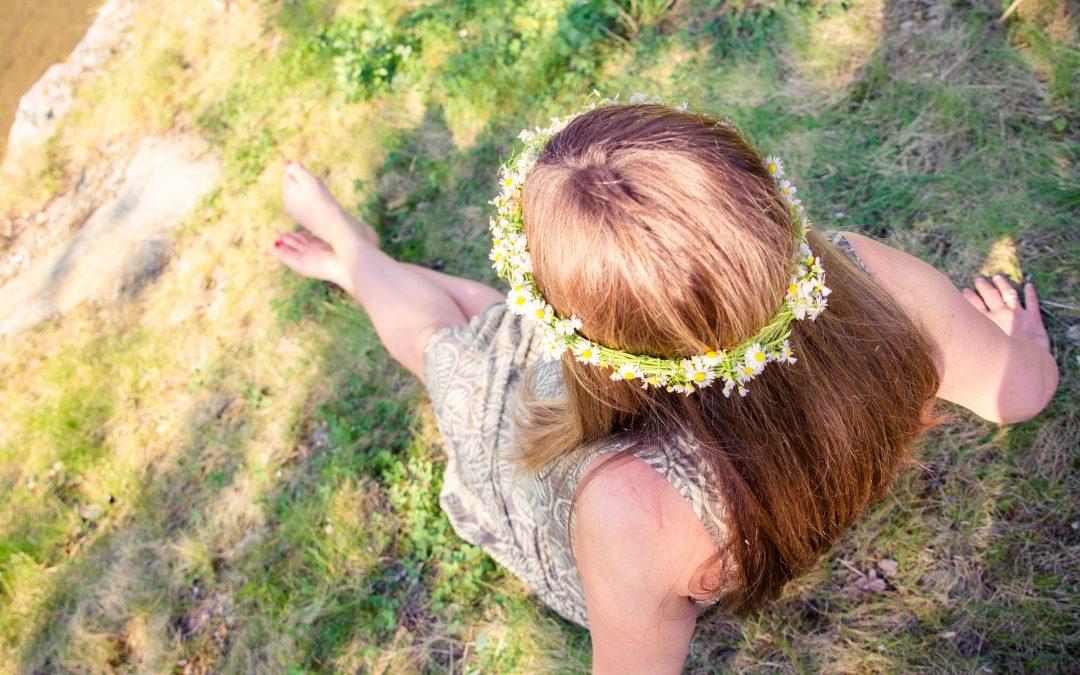 DIY Blumen-Haarschmuck