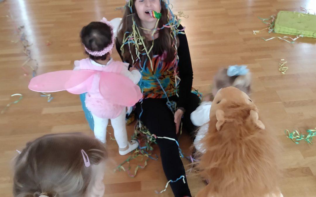 Yoga beim Kindergeburtstag